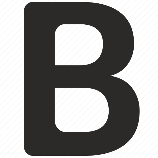 bold, format, letter, text icon