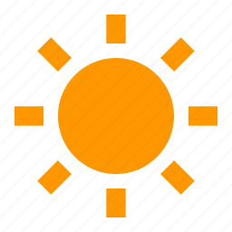 bright, brightness, light, sun icon