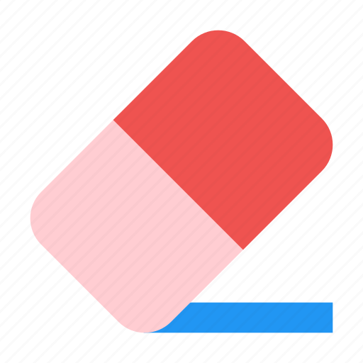 clean, delete, erase, eraser, remove icon