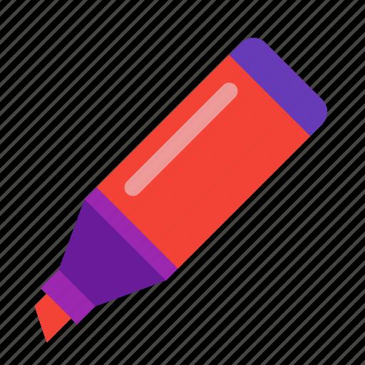 felt, felt-tip, marker, pen icon
