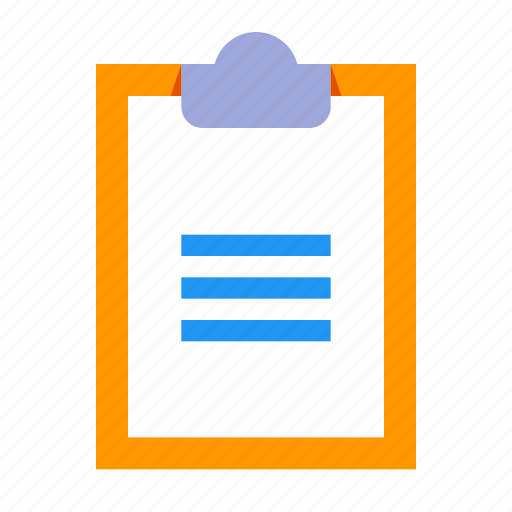 Paste, clipboard, list, task icon - Download on Iconfinder