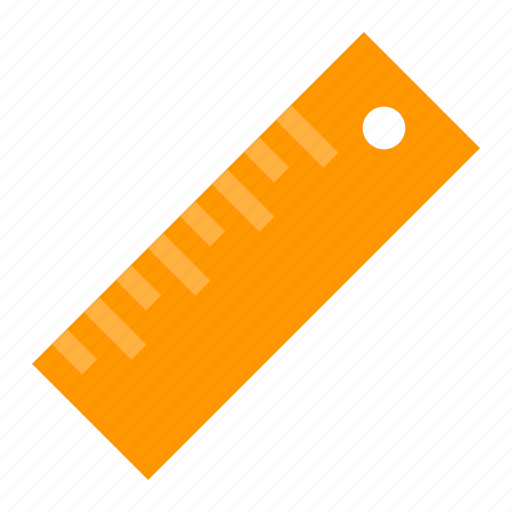 measure, ruler, tool icon