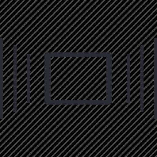 bloc, center, editing, image, text icon