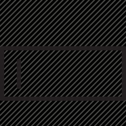 design, edit, line, text, type icon