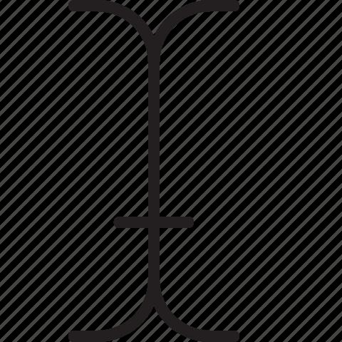 design, graphic, line, tool, type icon