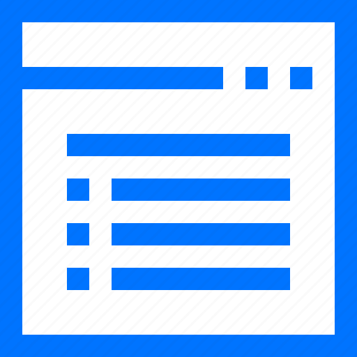 arrange, bullet, editor, format, list, text, website icon