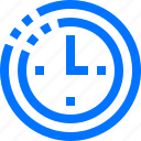 alarm, alert, clock, editor, time icon