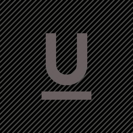 Format, underline, text, type icon - Download on Iconfinder