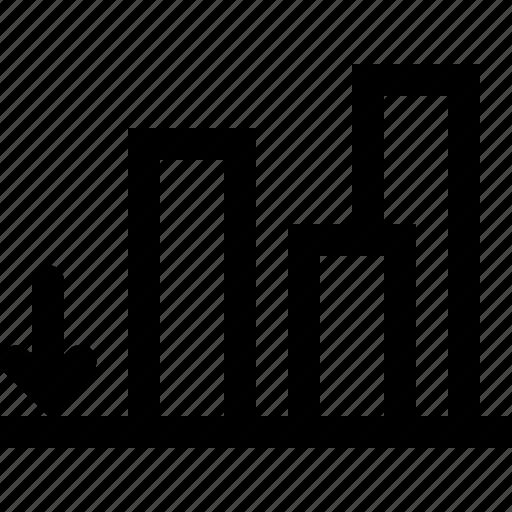 align, alignment, bottom, down, edge, edges, tool icon