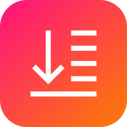 back, bottom, lower, object, spacing, to, tool icon