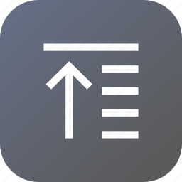 adjustment, alignment, move, raise, tool, top icon