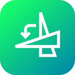 angle, anticlockwise, degree, flip, rotate, select, transform icon