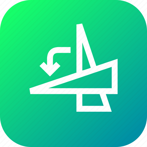 angle, anticlockwise, degree, flip, rotate, select, transform icon