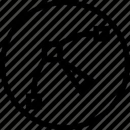 arrow, curve, edit, node, path, point, tool icon