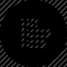 adjust, align, distribute, object icon