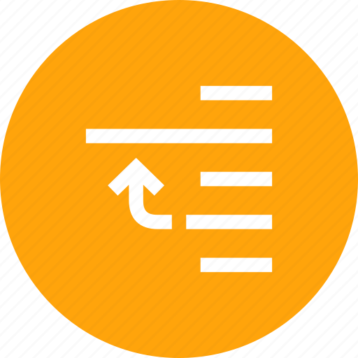 adjustment, alignment, down, interface, lower, page, tool icon