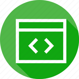 code, coding, css, development, editor, window, xml icon