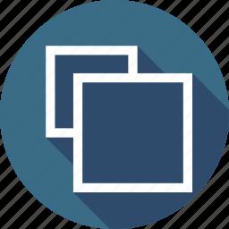 clone, copy, duplicate, shape, square icon