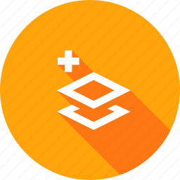 add, layer, layers, paper, stack icon