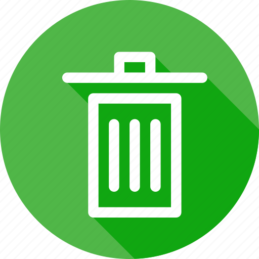 bin, delect, dustbin, garbage, recycle, trash, waste icon