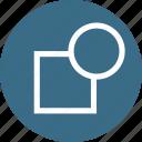 apart, break, object, part, path, tool icon