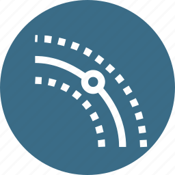 curve, dynamic, link, object, offset, path, tool icon