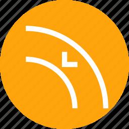 adjust, arrow, border, curve, inset, object, path icon