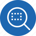 find, fit, search, selection, tool, window, zoom icon