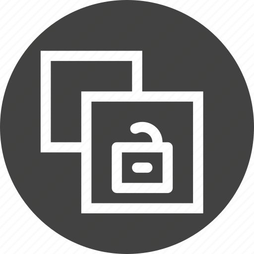 clone, copy, document, file, paper, unlock, unsafe icon