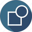 apart, break, object, part, path, tool icon