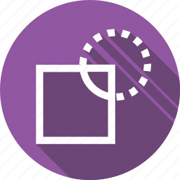 division, object, path, shape, tool icon