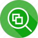 drawing, fit, magnify, search, tool, window, zoom icon