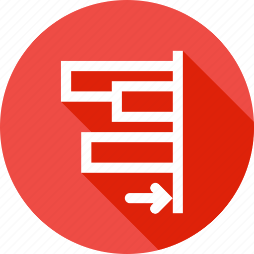 align, edges, object, right, tool icon