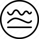 curve, line, path, shape, simplify, straight, tool icon