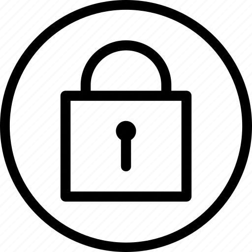 lock, privacy, protect, rotection, saftey, secure, security icon