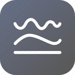 curve, line, path, shape, simplify, straight, tool icon