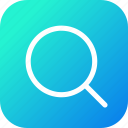 find, large, magnify, search, tool, zoom icon