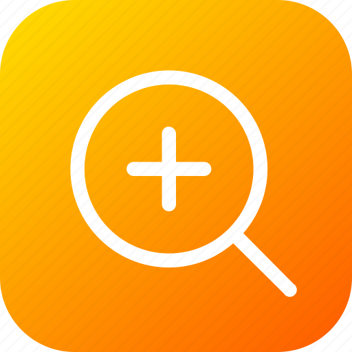 find, increase, large, maximize, search, tool, zoom icon