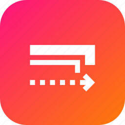 rectangle, samewidth, scale, scaling, stroke, width icon