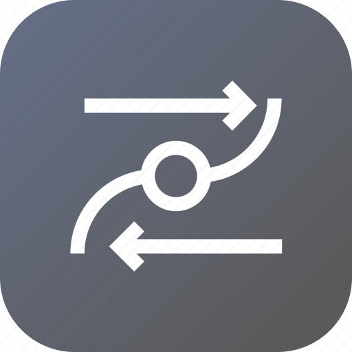 circle, line, object, path, reverse, select, tool icon