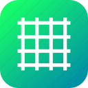 grid, layout, line, streamline icon
