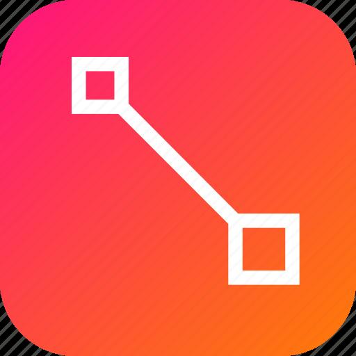 create, edit, gradient, grid, make, tool icon