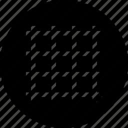 grid, layout, line, streamline icon