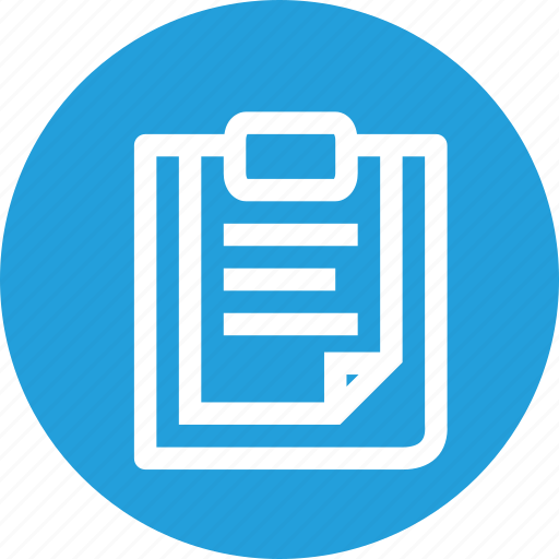 clipboard, document, file, files, paste icon
