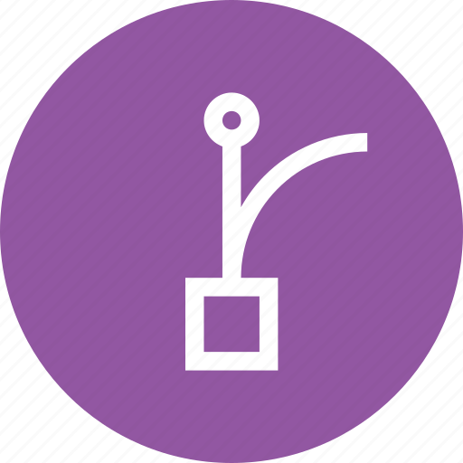 bezier, grid, handle, node, point, select, tool icon