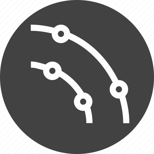 circle, curve, object, path, stroke, tool icon