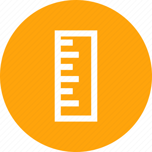 measurement, rule, ruler, scale, scaling, tool icon