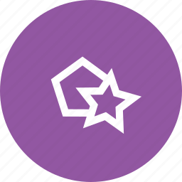 create, hexagon, make, pentagon, polygon, polygons, star icon