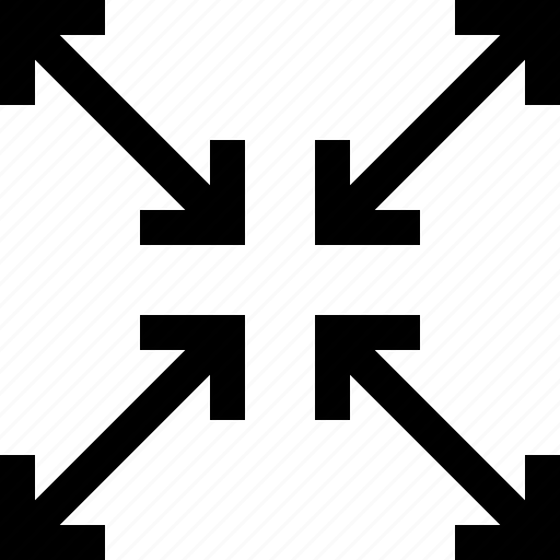 arrow, full, maximize, minimumtool, resize, screen icon