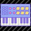 device, keyboard, midi, music
